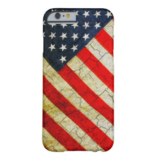 Schmutz-amerikanische Flagge Barely There iPhone 6 Hülle