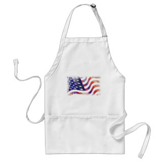 Schmutz-amerikanische Flagge Schürze