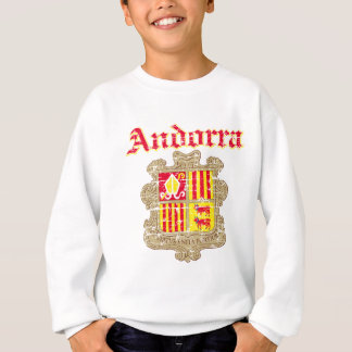 Schmutz-Andorra-Wappen Entwürfe Sweatshirt