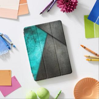 Schmutz-Aquarell und Metallplatten| Ipad iPad Air Cover