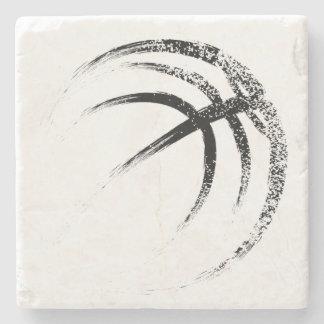 Schmutz-Art-Basketball-Entwurf Steinuntersetzer