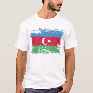 Schmutz-Aserbaidschan-Flagge T-Shirt