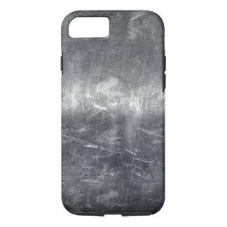 Schmutz beunruhigter metallischer industrieller iPhone 8/7 hülle