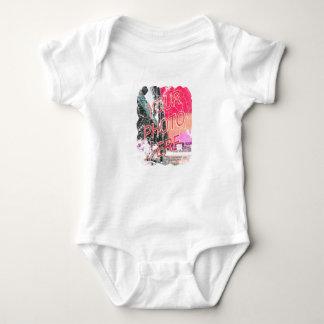 Schmutz-Blick-Schablone Baby Strampler