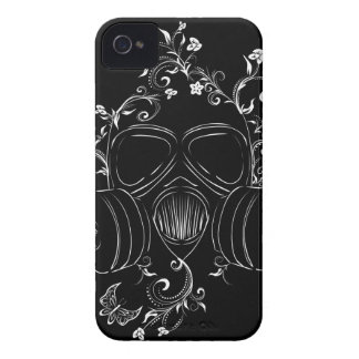 Schmutz-Blumengasmaske iPhone 4 Cover