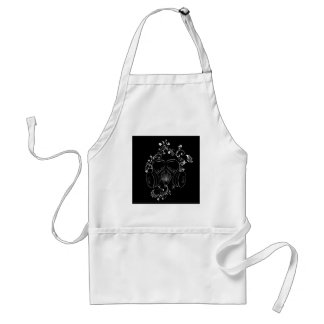 Schmutz-Blumengasmaske Schürze