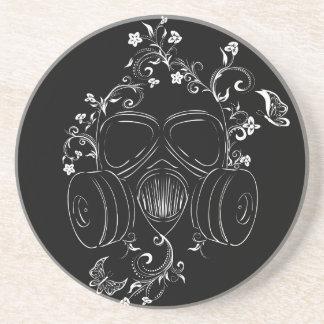 Schmutz-Blumengasmaske Untersetzer