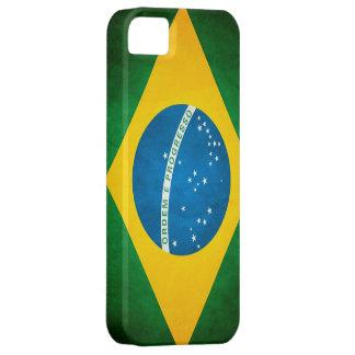 Schmutz-Brasilien-Flagge Etui Fürs iPhone 5