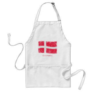 Schmutz-Dänemark-Flagge