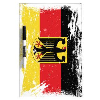 Schmutz-Deutschland-Flagge Trockenlöschtafel
