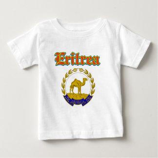 Schmutz-Eritrea-Wappen Entwürfe Baby T-shirt
