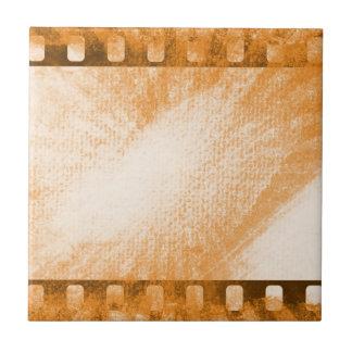 Schmutz-Film-Streifen Fliese
