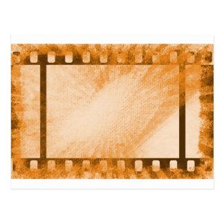 Schmutz-Film-Streifen Postkarte