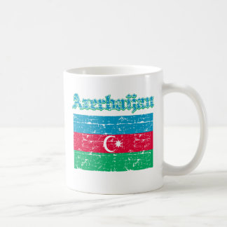 Schmutz-Flagge von Aserbaidschan Kaffeetasse