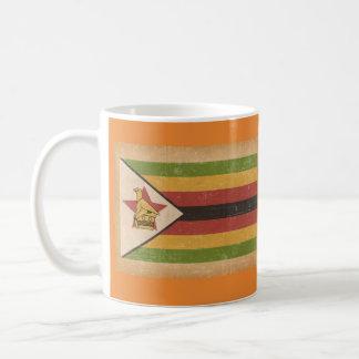 Schmutz-Flagge von Simbabwe Kaffeetasse