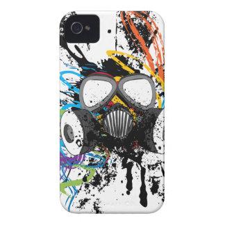 Schmutz-Gasmaske iPhone 4 Etuis