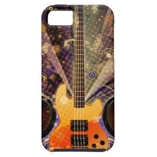 Schmutz-Gitarre mit Lautsprechern 2 Hülle Fürs iPhone 5