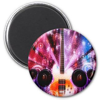 Schmutz-Gitarre mit Lautsprechern 3 Runder Magnet 5,7 Cm