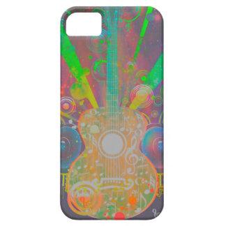 Schmutz-Gitarre mit Lautsprechern Etui Fürs iPhone 5