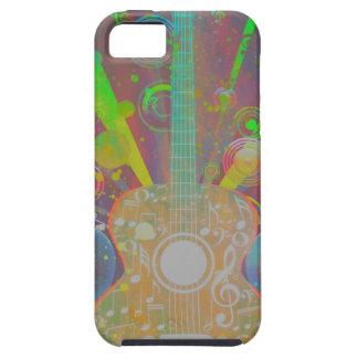 Schmutz-Gitarre mit Lautsprechern Tough iPhone 5 Hülle