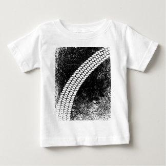 Schmutz-Gleiter-Kennzeichen Baby T-shirt