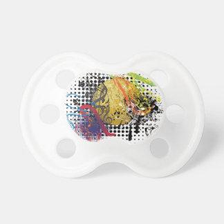 Schmutz-Golddisco-Ball Schnuller