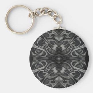 Schmutz-graues Metallstammes- gotisches Schlüsselanhänger