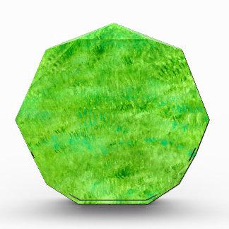 Schmutz grünes Background2 Acryl Auszeichnung