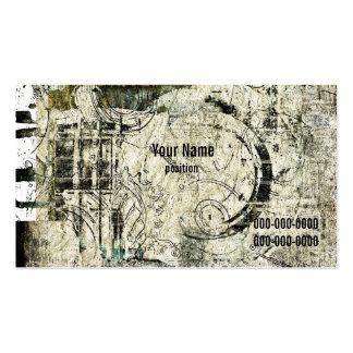 Schmutz industriell visitenkarten