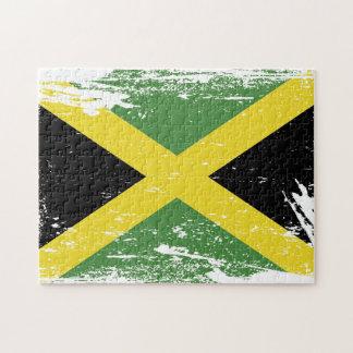 Schmutz-Jamaika-Flagge Puzzle