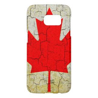 Schmutz-Kanada-Flagge