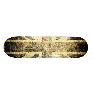Schmutz-Königreich-Flagge Individuelle Skateboards
