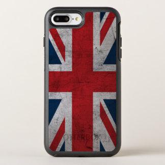 Schmutz-Königreich-Flagge OtterBox Symmetry iPhone 8 Plus/7 Plus Hülle