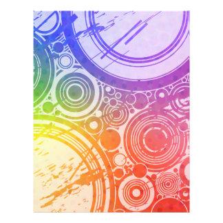 Schmutz-Kreise: Regenbogen-Ausgabe: 21,6 X 27,9 Cm Flyer