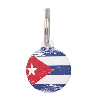 Schmutz-Kuba-Flagge Hundemarke