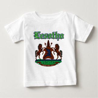 Schmutz-Lesotho-Wappen Entwürfe Baby T-shirt