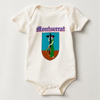 Schmutz-Montserrat-Wappen Entwürfe Baby Strampler