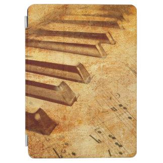 Schmutz-Musik-Blatt-Klavier-Schlüssel iPad Air Cover