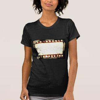Schmutz-negativer Film-Streifen T-Shirt