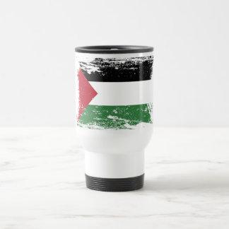 Schmutz-Palästina-Flagge Reisebecher