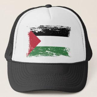 Schmutz-Palästina-Flagge Truckerkappe