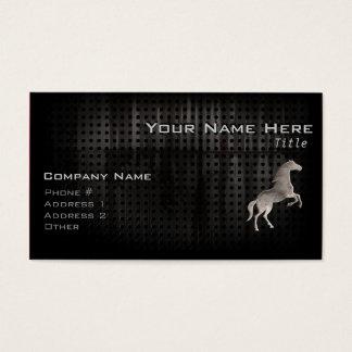 Schmutz-Pferd Visitenkarte
