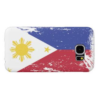 Schmutz-Philippinen-Flagge