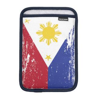 Schmutz-Philippinen-Flagge iPad Mini Sleeve