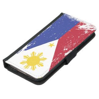 Schmutz-Philippinen-Flagge Samsung Galaxy S5 Geldbeutel Hülle