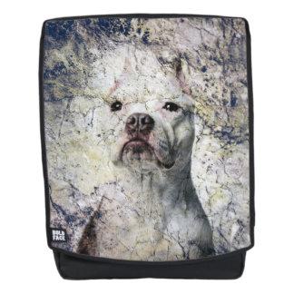 Schmutz Pitbull Terrier Rucksack
