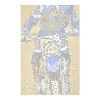 Schmutz-Radfahrendes Moto-X Champions-Designer Personalisierte Druckpapiere