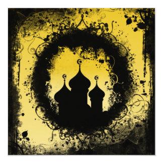 Schmutz-Ramadan-Einladung Quadratische 13,3 Cm Einladungskarte