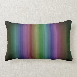 Schmutz-Regenbogen-Rock-Streifen-Linie Muster Lendenkissen