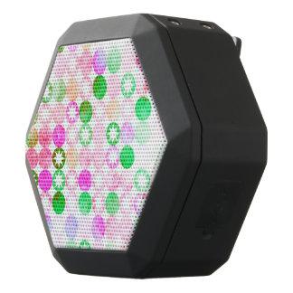 Schmutz-rosa u. grüne Punkte mit Stern-Explosionen Schwarze Bluetooth Lautsprecher